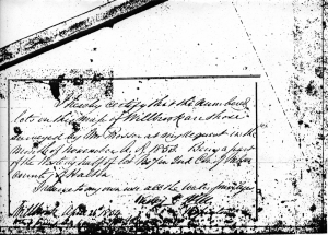 Willbrook Survey Signature