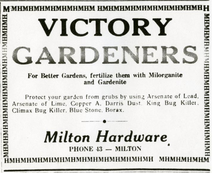 Climax Bug Killer Ad, 1944