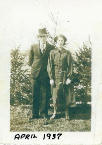 Robertson Family, April 1937