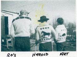 Robertson Children: Roy, Harold, Art