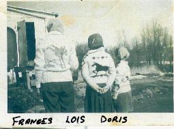 Robertson Children: Frances, Lois, Doris